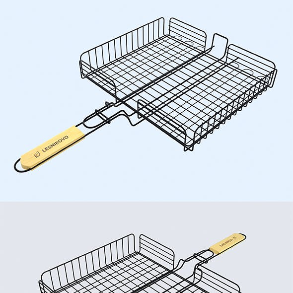 Outdoor Wire Clamp - Bbq Grill Clamps - Fish Meat. Grill Stainless Steel Net Wire Clamp.