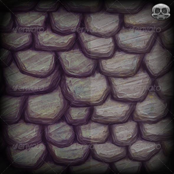 Slate Roof Texture Tile