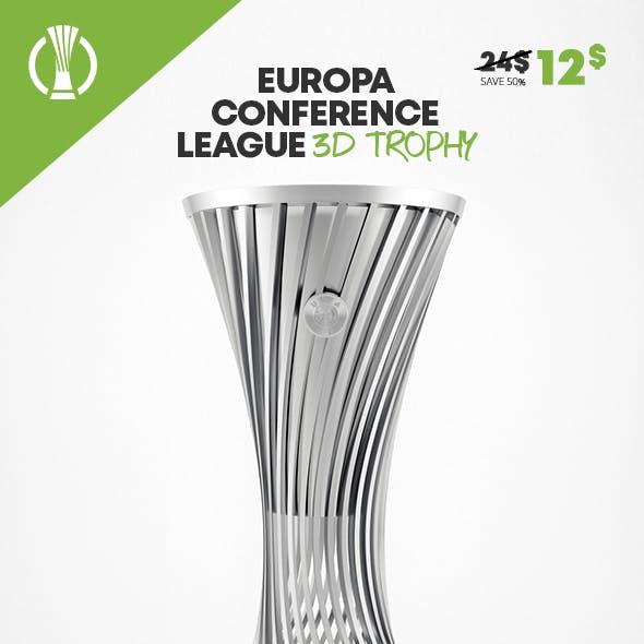 UEFA Europa Conference League Trophy 3D Model