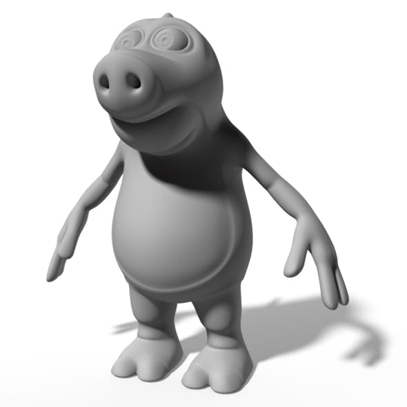 Dragon cartoon character
