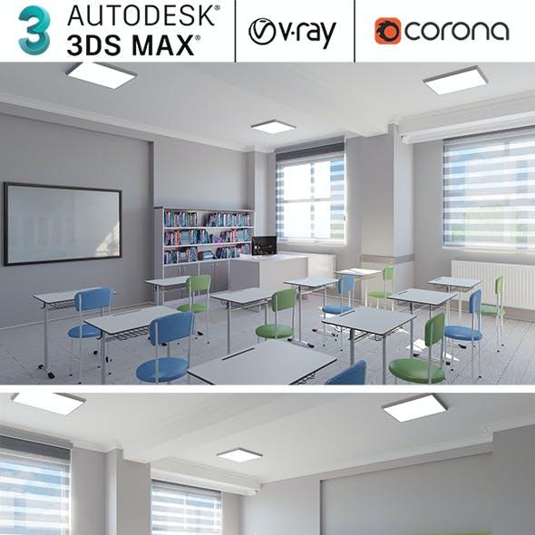 School Library Interior Design Collection 02
