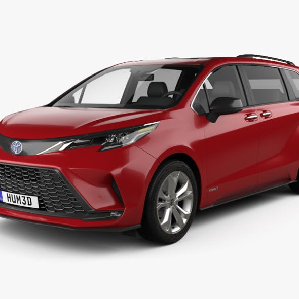 Toyota Sienna XSE 2020 - 3DOcean Item for Sale