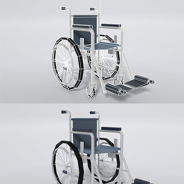 Low Poly - Wheel Chair