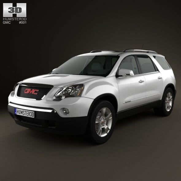 GMC Acadia 2011 - 3DOcean Item for Sale
