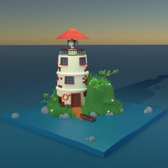 Lighthouse - 3DOcean Item for Sale