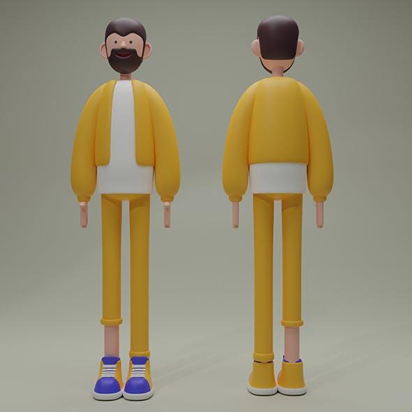 Cartoon Male - Character
