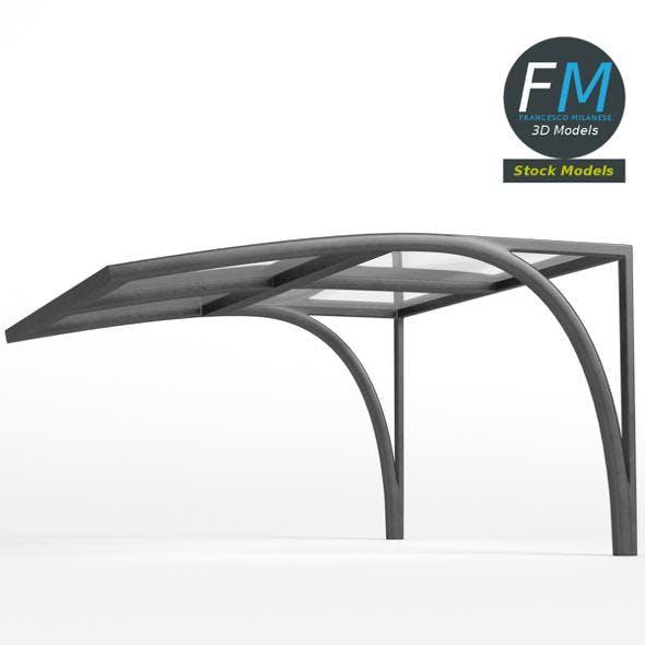 Acrylic canopy - 3DOcean Item for Sale