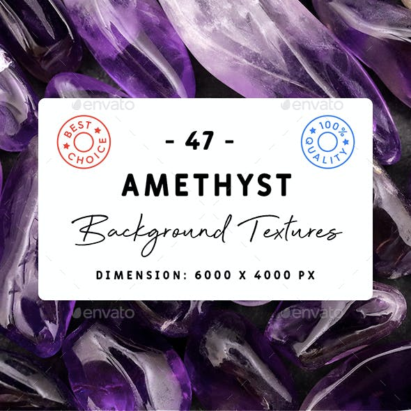 47 Amethyst Background Textures