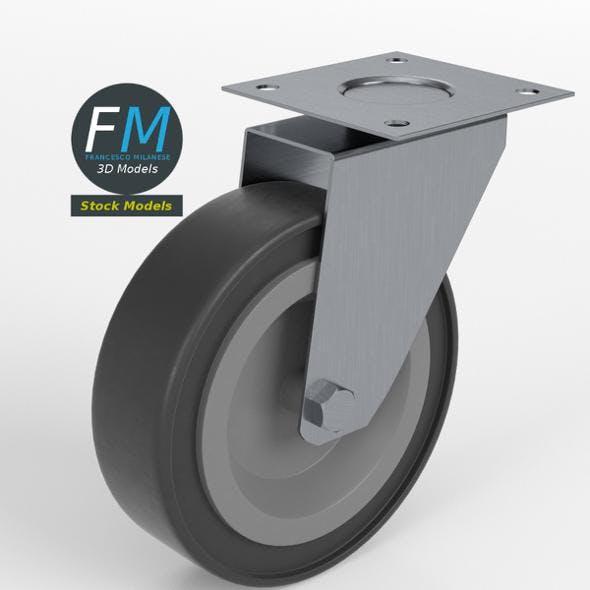 Trolley wheel 1 - 3DOcean Item for Sale