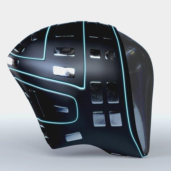 Helmet Futuristic PBR