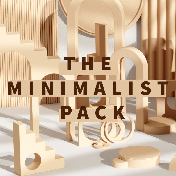 THE MINIMALIST PACK - 3DOcean Item for Sale