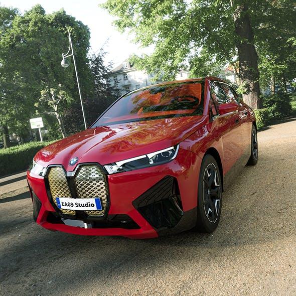 2022 BMW IX Electric - 3DOcean Item for Sale