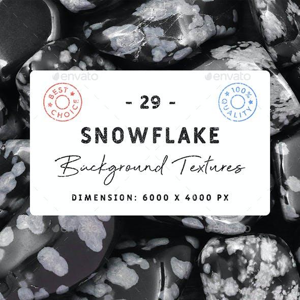 29 Snowflake Background Textures