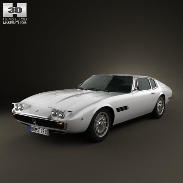 Maserati Ghibli coupe 1967
