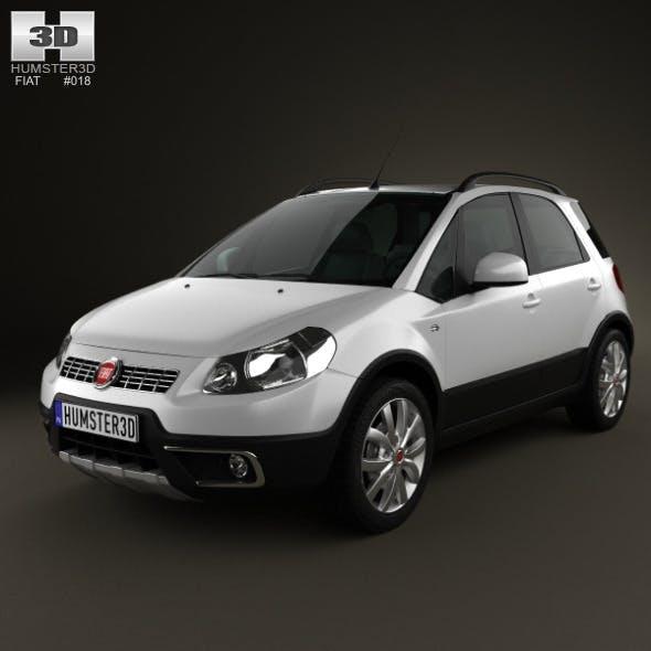 Fiat Sedici 2010 - 3DOcean Item for Sale