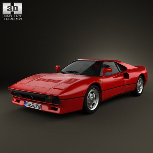 Ferrari 288 GTO 1984 - 3DOcean Item for Sale