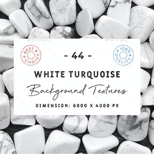 44 White Turquoise Background Textures