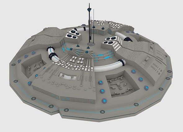 UFO Spaceship - 3DOcean Item for Sale
