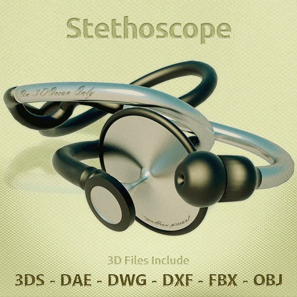 Stethoscope 3D Objects