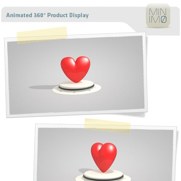 Animated 360° Product Display