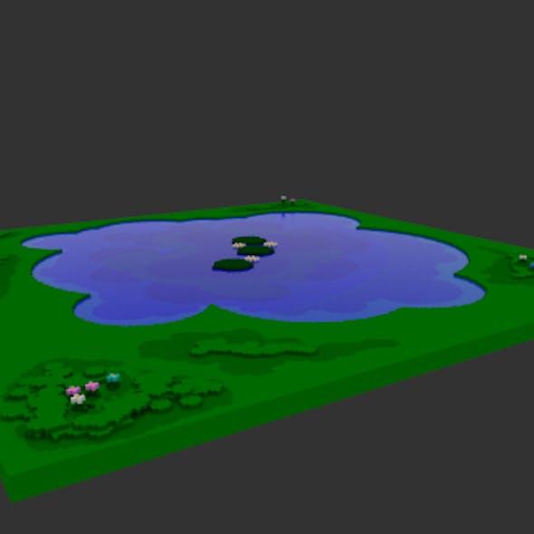 Voxel Pond