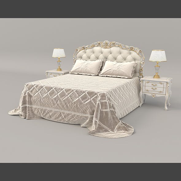 European Style Bed 16