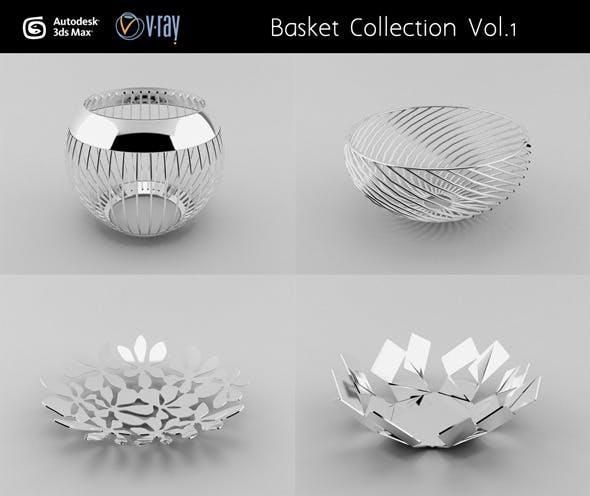 Basket Collection Vol.1 - 3DOcean Item for Sale
