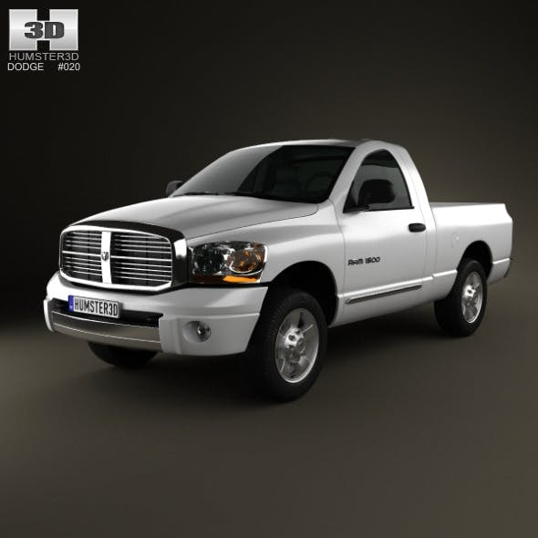 Dodge Ram 1500 Regular Cab Laramie 120-inch Box 20