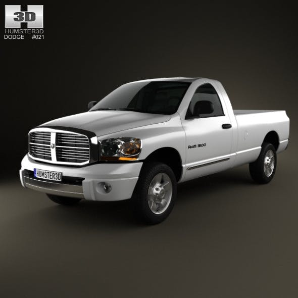 Dodge Ram 1500 Regular Cab Laramie 140-inch Box 20