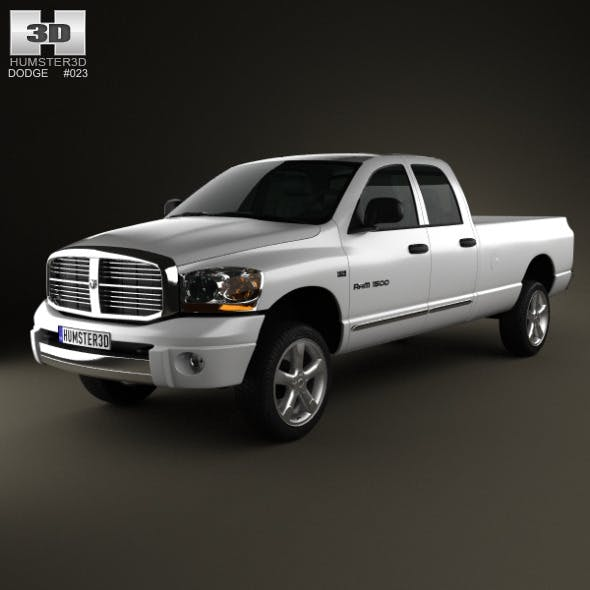 Dodge Ram 1500 Quad Cab Laramie 160-inch Box 2008
