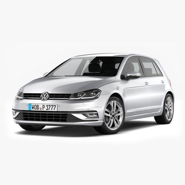 Volkswagen Golf 2017 - 3DOcean Item for Sale