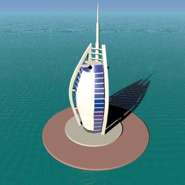 Burj Al Arab - 3DOcean Item for Sale