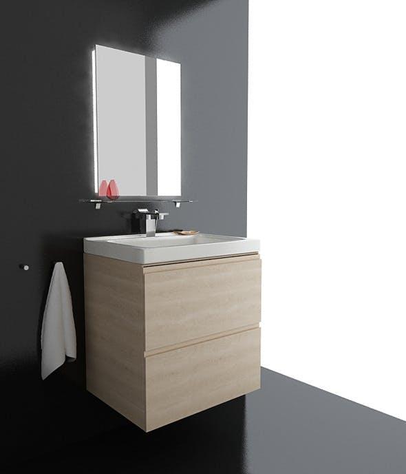 Bathroom Set 02 - 3DOcean Item for Sale