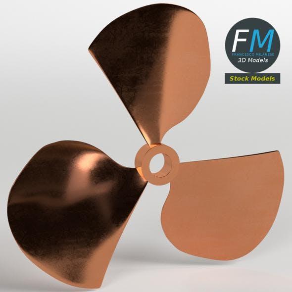 Three blades propeller fan