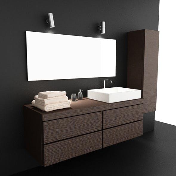 Bathroom Set 03 - 3DOcean Item for Sale