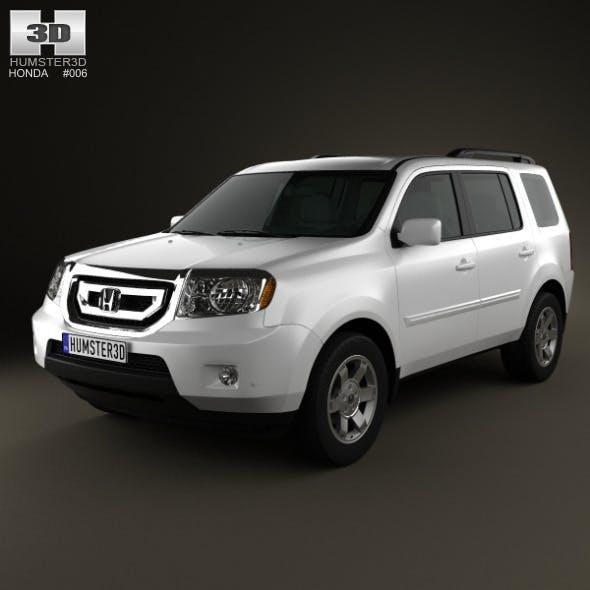 Honda Pilot 2010 - 3DOcean Item for Sale