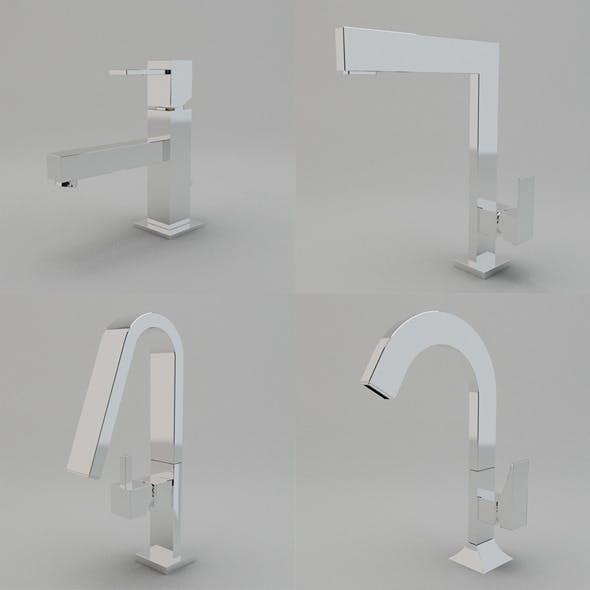 Faucet Collection Vol.2 - 3DOcean Item for Sale