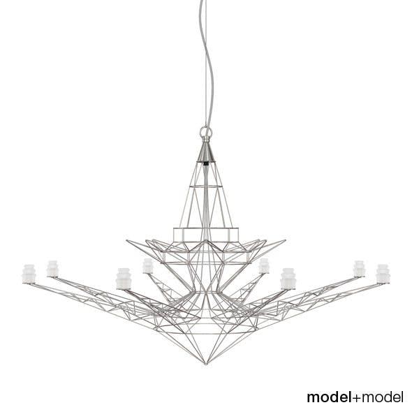 Foscarini Lightweight suspension lamp - 3DOcean Item for Sale