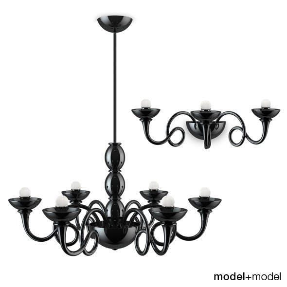 Artemide Pantalica lamps - 3DOcean Item for Sale
