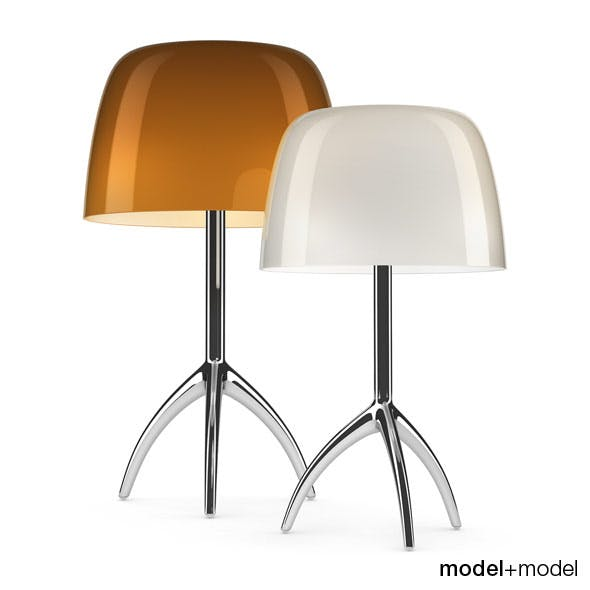 Foscarini Lumiere 05 table lamps - 3DOcean Item for Sale