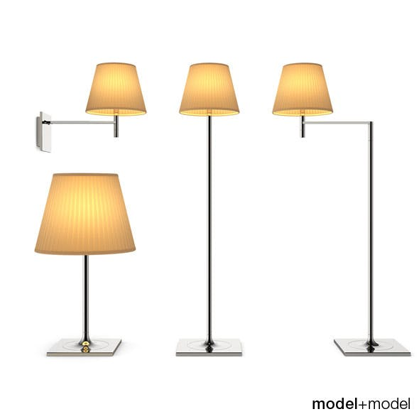 Flos KTribe Soft lamps - 3DOcean Item for Sale