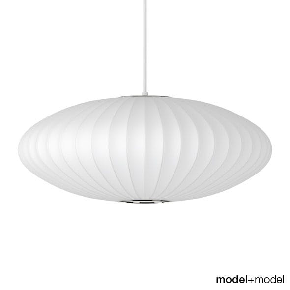 George Nelson Saucer suspension lamp - 3DOcean Item for Sale