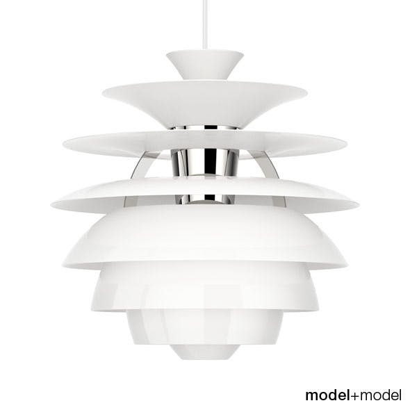 Louis Poulsen PH Snowball suspension lamp - 3DOcean Item for Sale