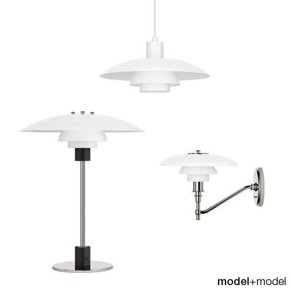 Louis Poulsen PH 4/3 lamps