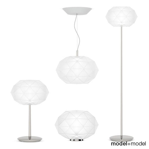 Artemide Soffione lamps - 3DOcean Item for Sale