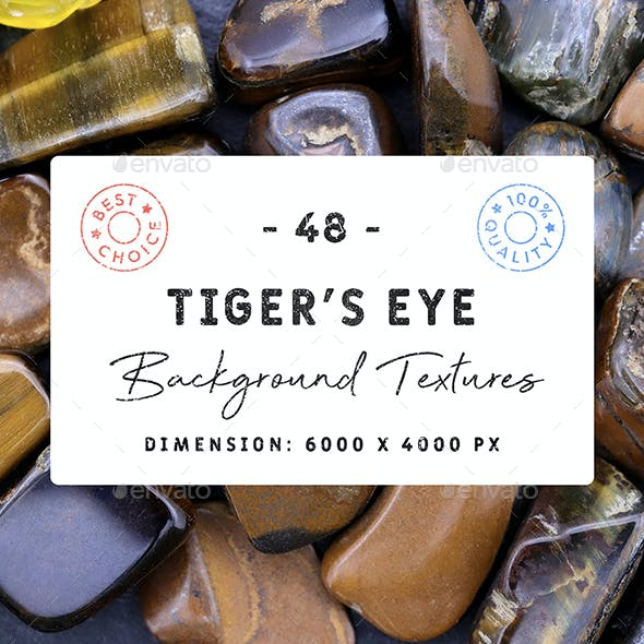 48 Tiger's Eye Background Textures