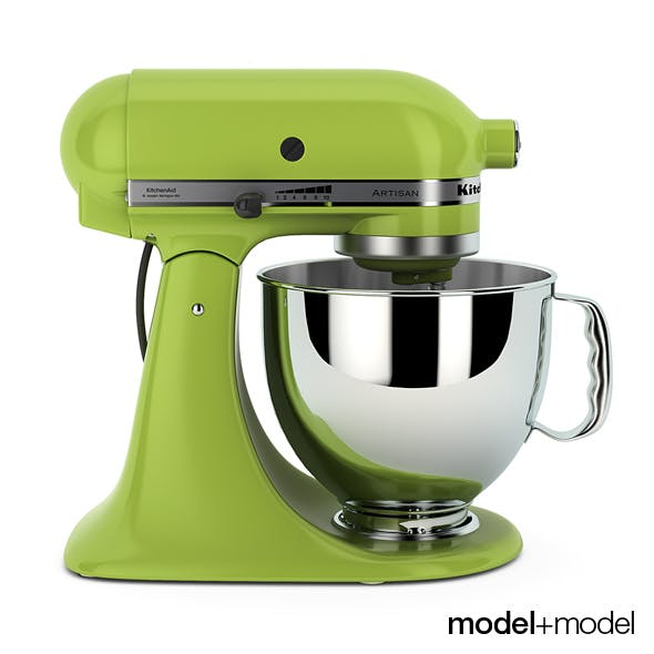 Stand mixer KitchenAid Artisan - 3DOcean Item for Sale