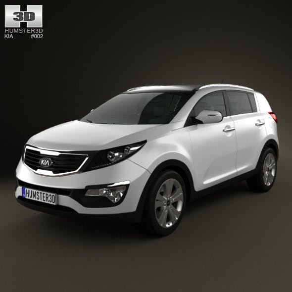 Kia Sportage 2011 - 3DOcean Item for Sale