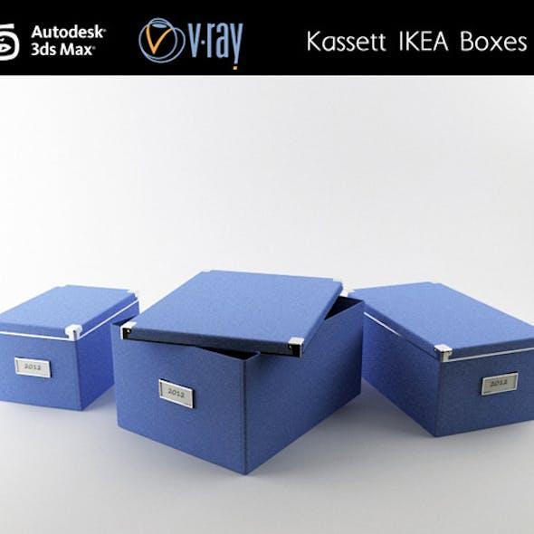 Kassett IKEA boxes