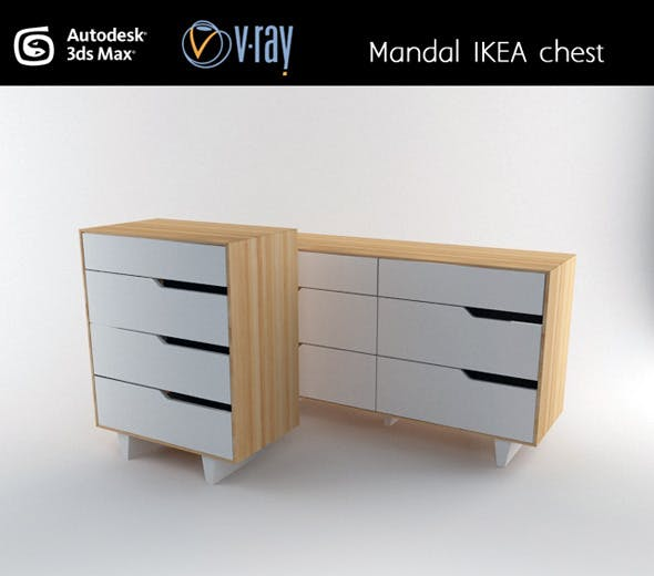 Mandal IKEA chest - 3DOcean Item for Sale